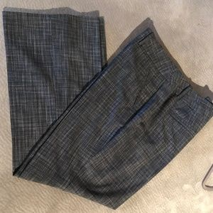 B&W Tweed Patterned Slacks-NWOT